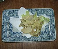 菊芋天ぷら
